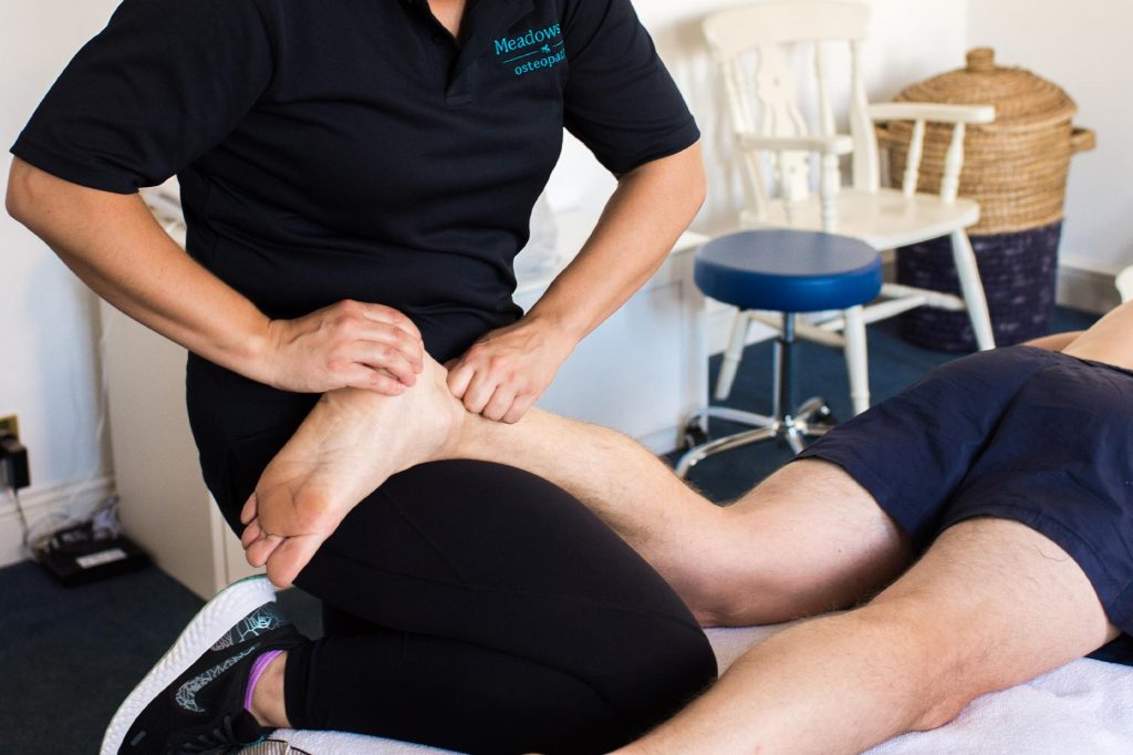Meadowside Osteopathy - foot and ankle pain image