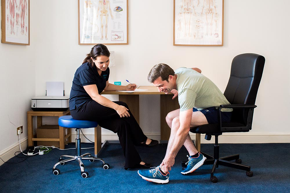 Meadowside Osteopathy - Farnham, Surrey - Foot and ankle pain